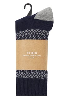George Fairisle 2 Pack Socks
