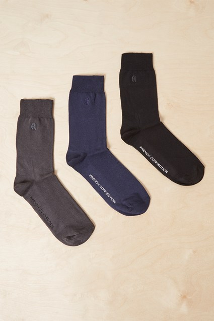 3 Pack Dress Socks