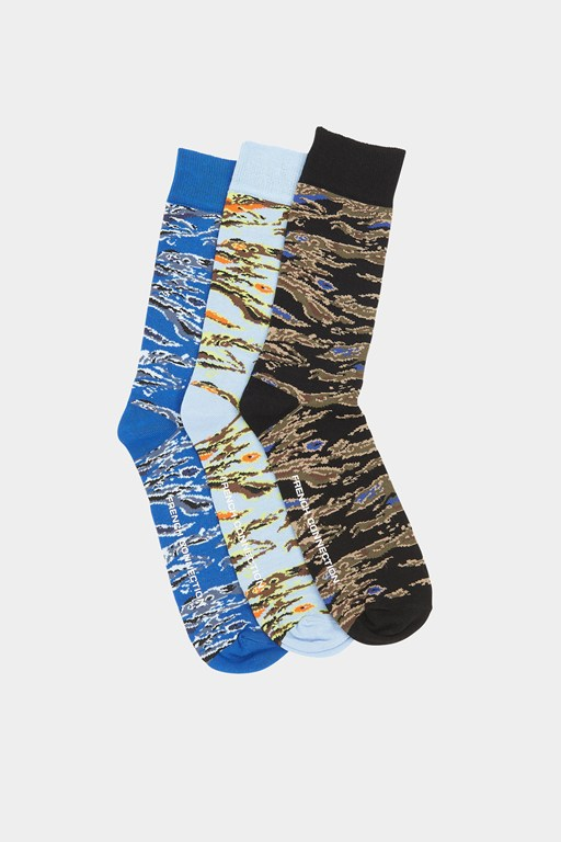3 pack woven planet socks