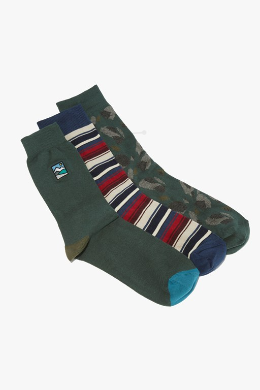 oxford socks 3 pack