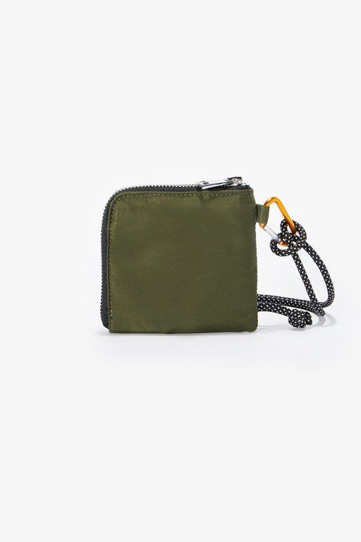 nylon coin wallet