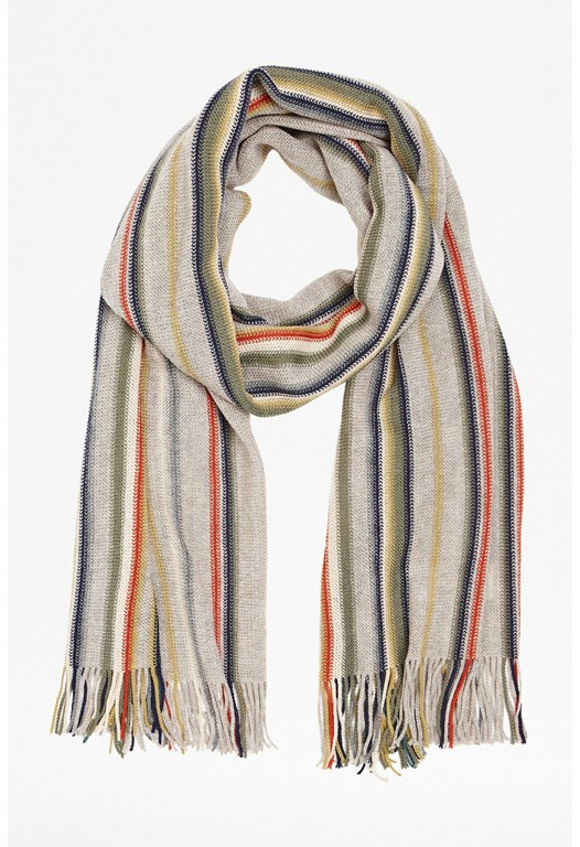 Rasher Striped Scarf
