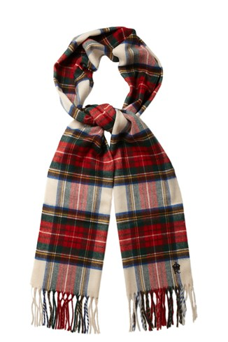 Power Wheel Tartan Scarf