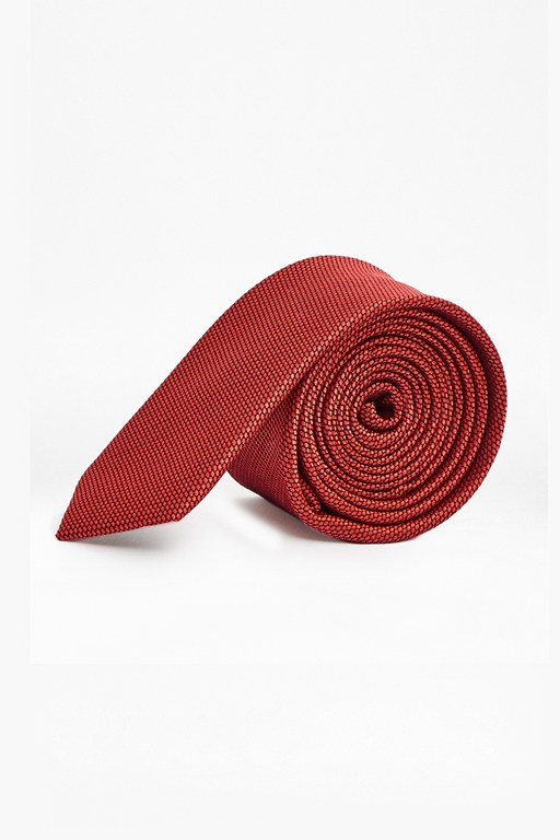 Complete the Look Plain Skinny Silk Tie