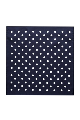 Silk Trapeze Dot Pocket Square