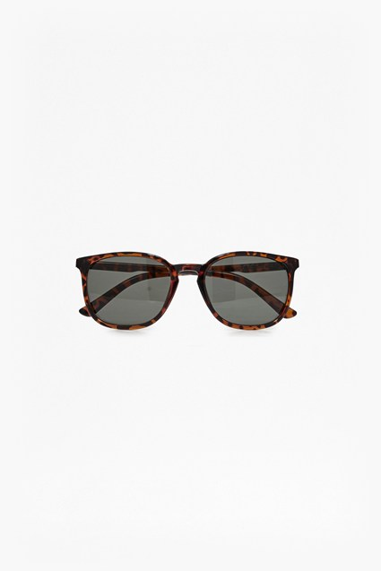 Slim Temple Preppy Sunglasses