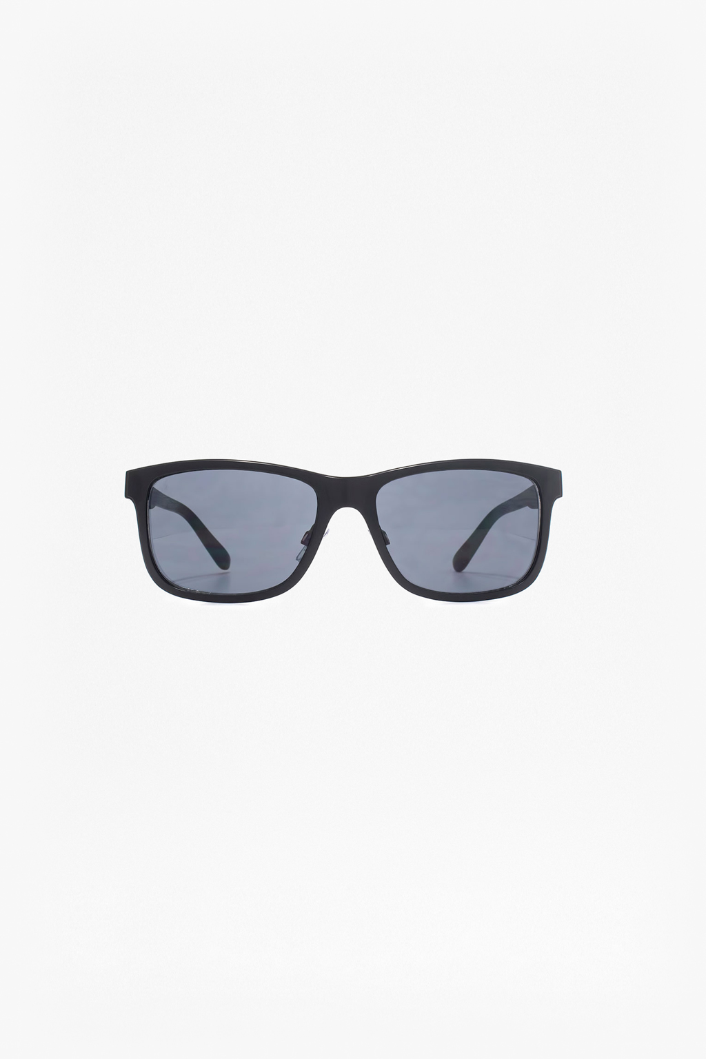 Metal Retro Sunglasses with Plastic Temple