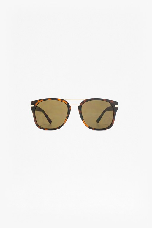 Complete the Look Square Sunglasses With Metal Bridge