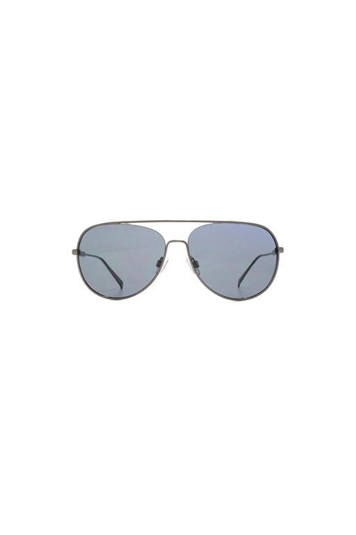 chunky metal aviator sunglasses