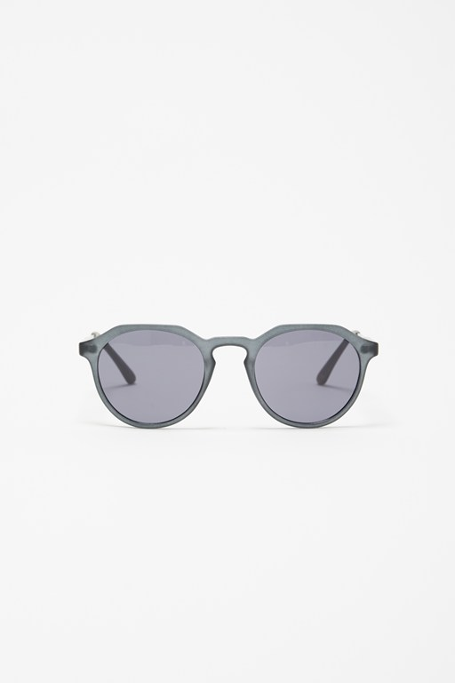 geometric frame sunglasses