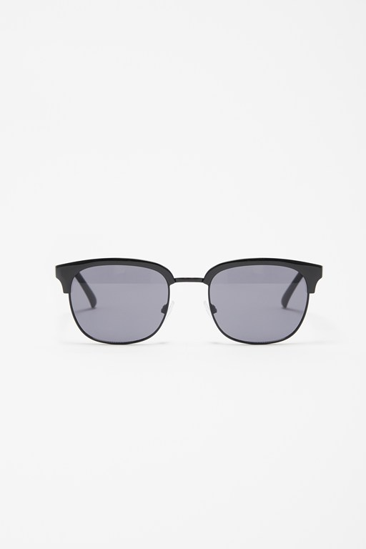 square brow bar sunglasses
