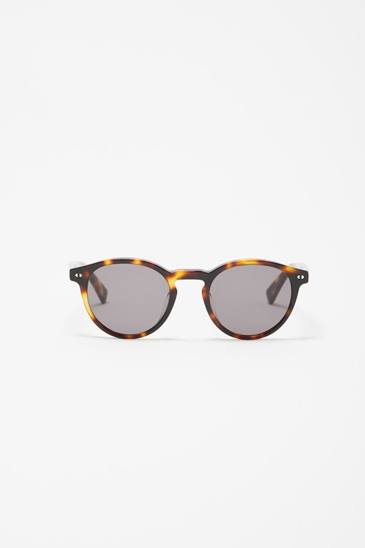 Complete the Look Preppy Round Tortoise Sunglass