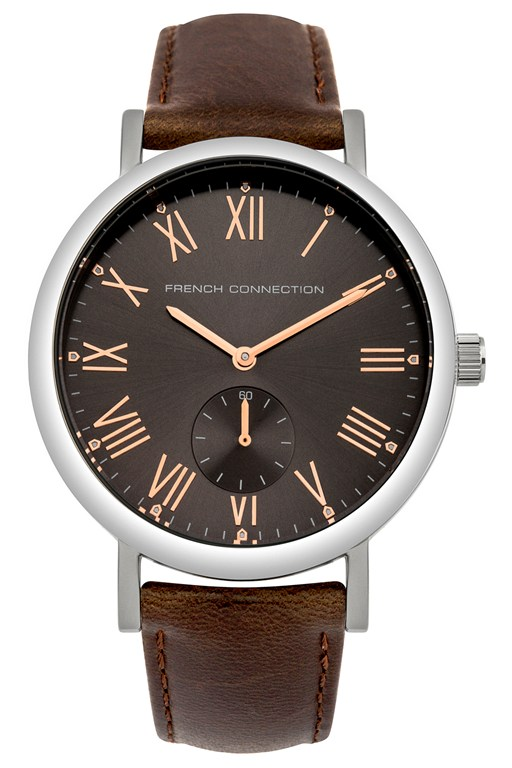 Complete the Look Polished case leather strap