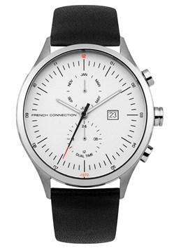 Kensington 44MM Leather Strap Watch