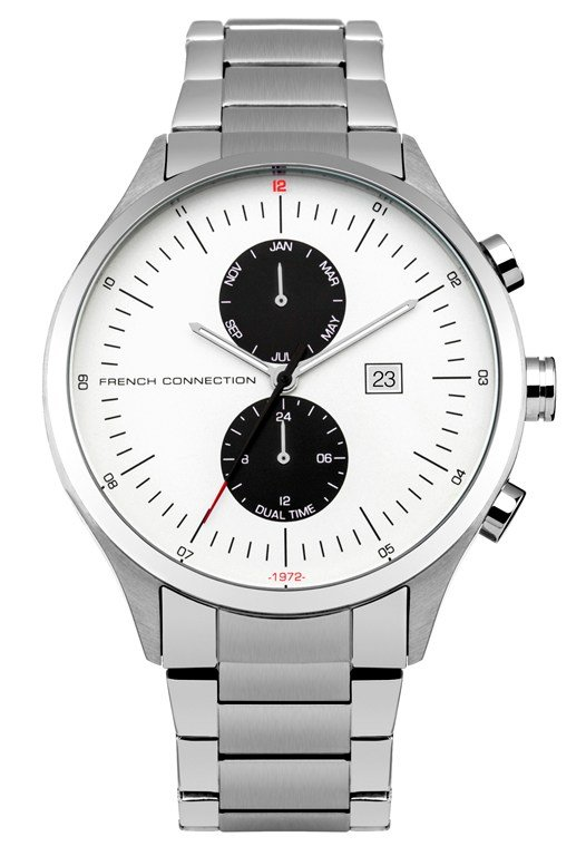 Kensington 44MM Polished Bracelet Watch