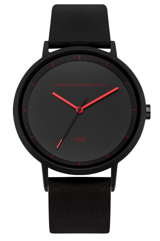 Complete the Look Black Silicone Watch