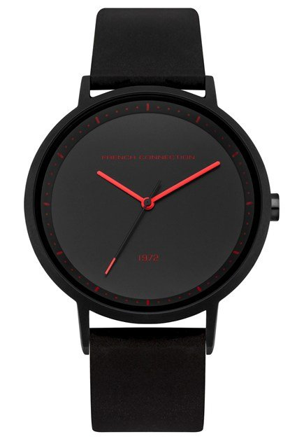 Black Silicone Watch
