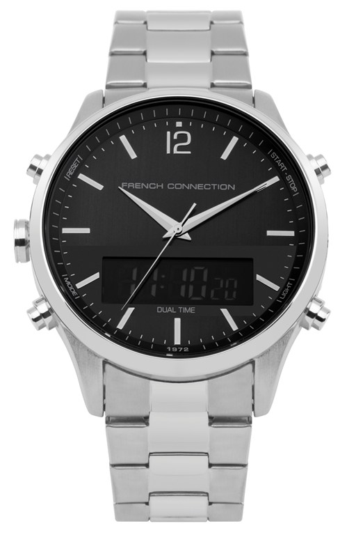 Complete the Look Brushed Steel Watch