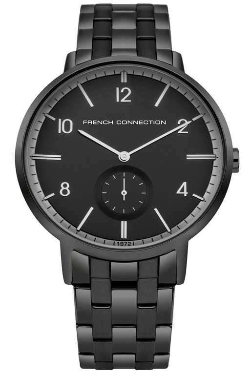 Complete the Look Gunmetal Bracelet Watch