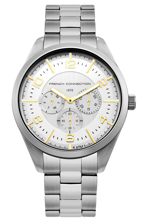 Complete the Look Mix Silver Bracelet Watch