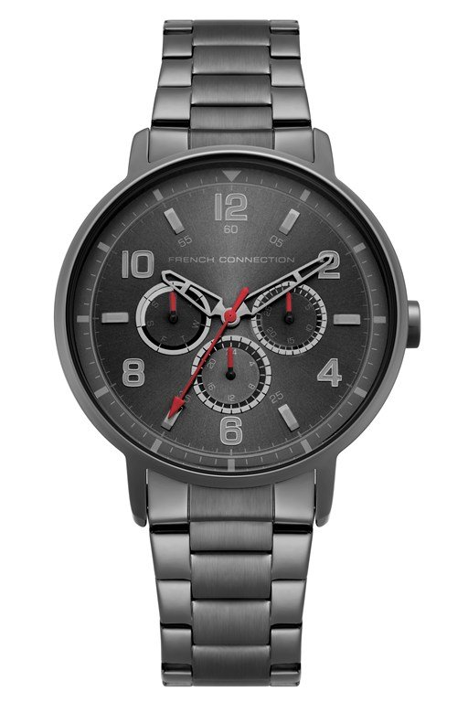 Complete the Look Grey Sunray Dial Bracelet Watch