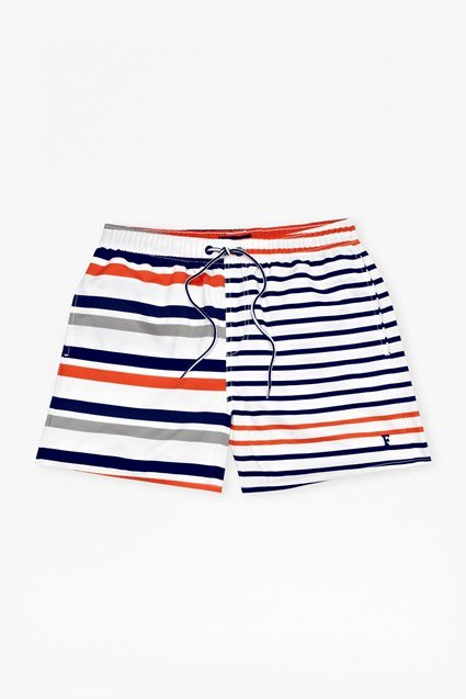 Casual Printed Swim Shorts
