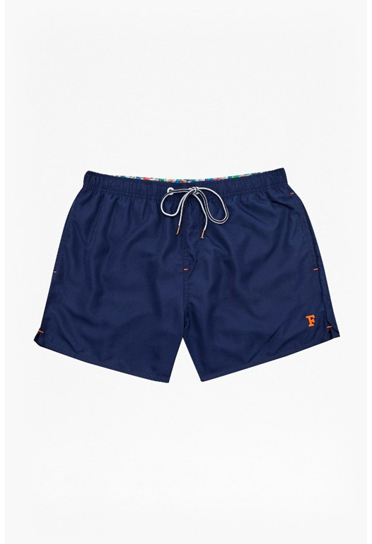 Casual Drawstring Swim Shorts