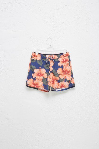 Wela Hawaiian Swim Shorts