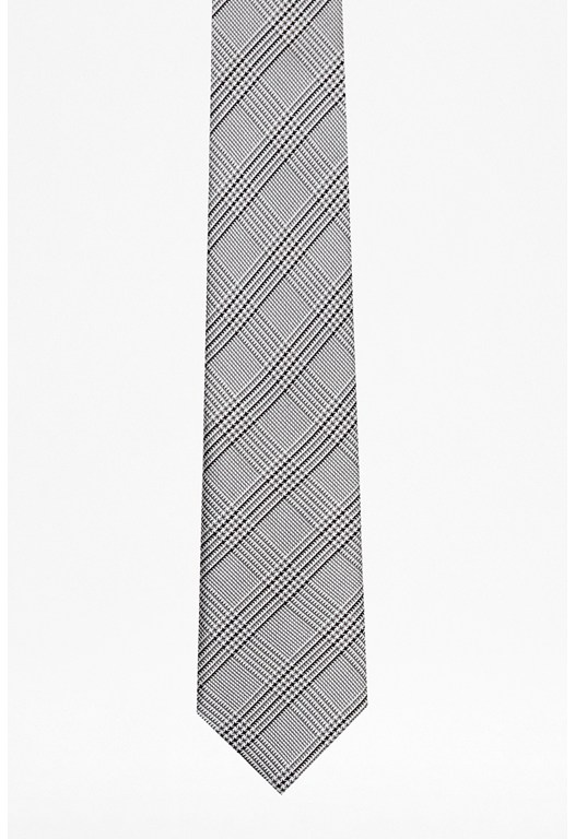 Simon Check Silk Tie