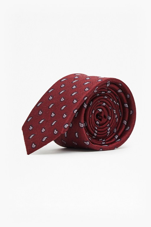 Complete the Look Madhar Mini Paisley Silk Tie