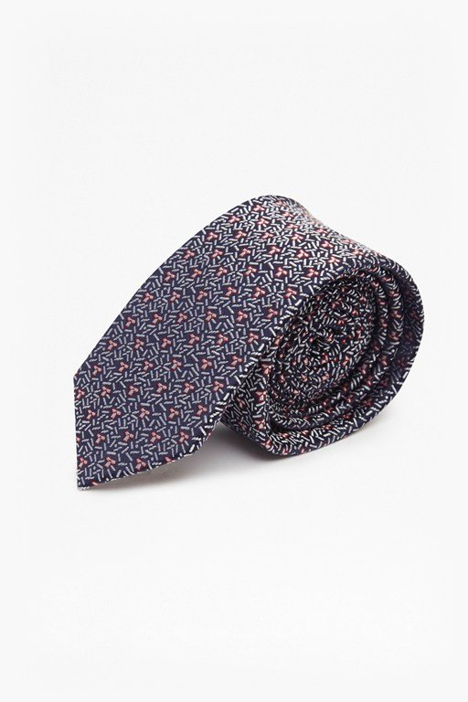Complete the Look Amil Geo Silk Tie
