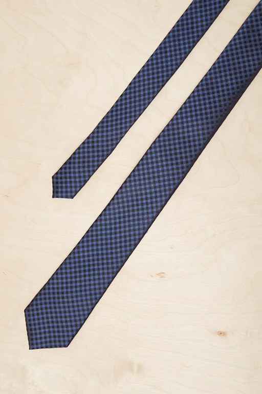 kobe mini check tie