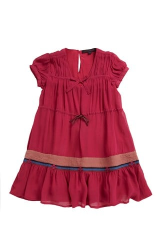 Summer Tiered Dress Pink