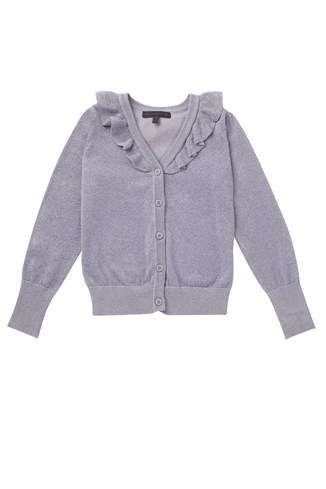 Dani Knit Girls Cropped Cardi