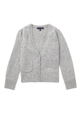 Firework Tweed Knit Pkts Cardi