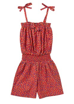 Ditsy Leaf Cotton Playsuit