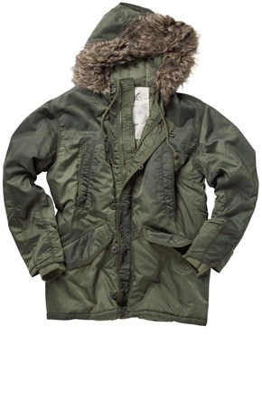 French Connection Basic Parka