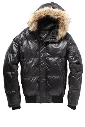 Downfill Nylon Jacket