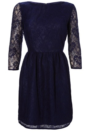 Kate Middleton Similar Blue Lace Erdem