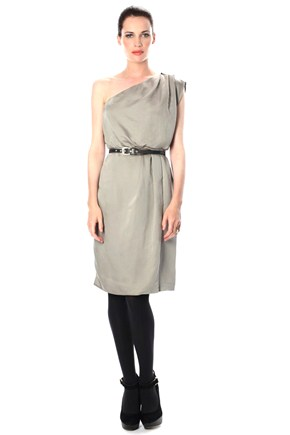 Ella Drape Dress - Dresses - French Connection from frenchconnection.com