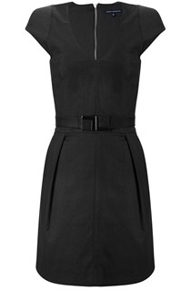 Majestic Mendoza Belted Dress