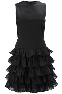 Saturday Cotton Ruffle Dress