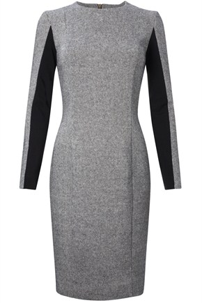 Dee Tweed Panel Dress