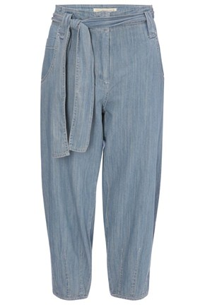 Phillipa Denim Belted Trouser