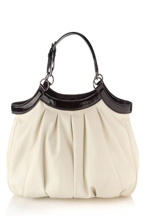 Patent And Pleat Bag