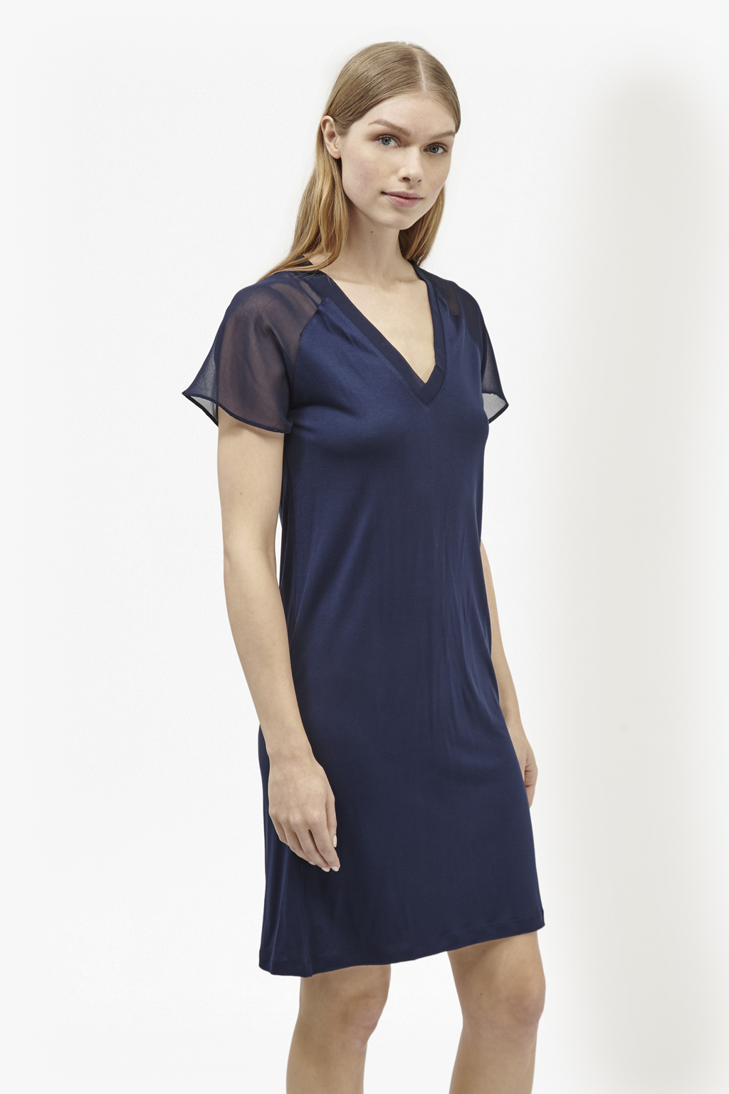 Attia jersey t shirt dress collections french connection for French connection t shirt dress
