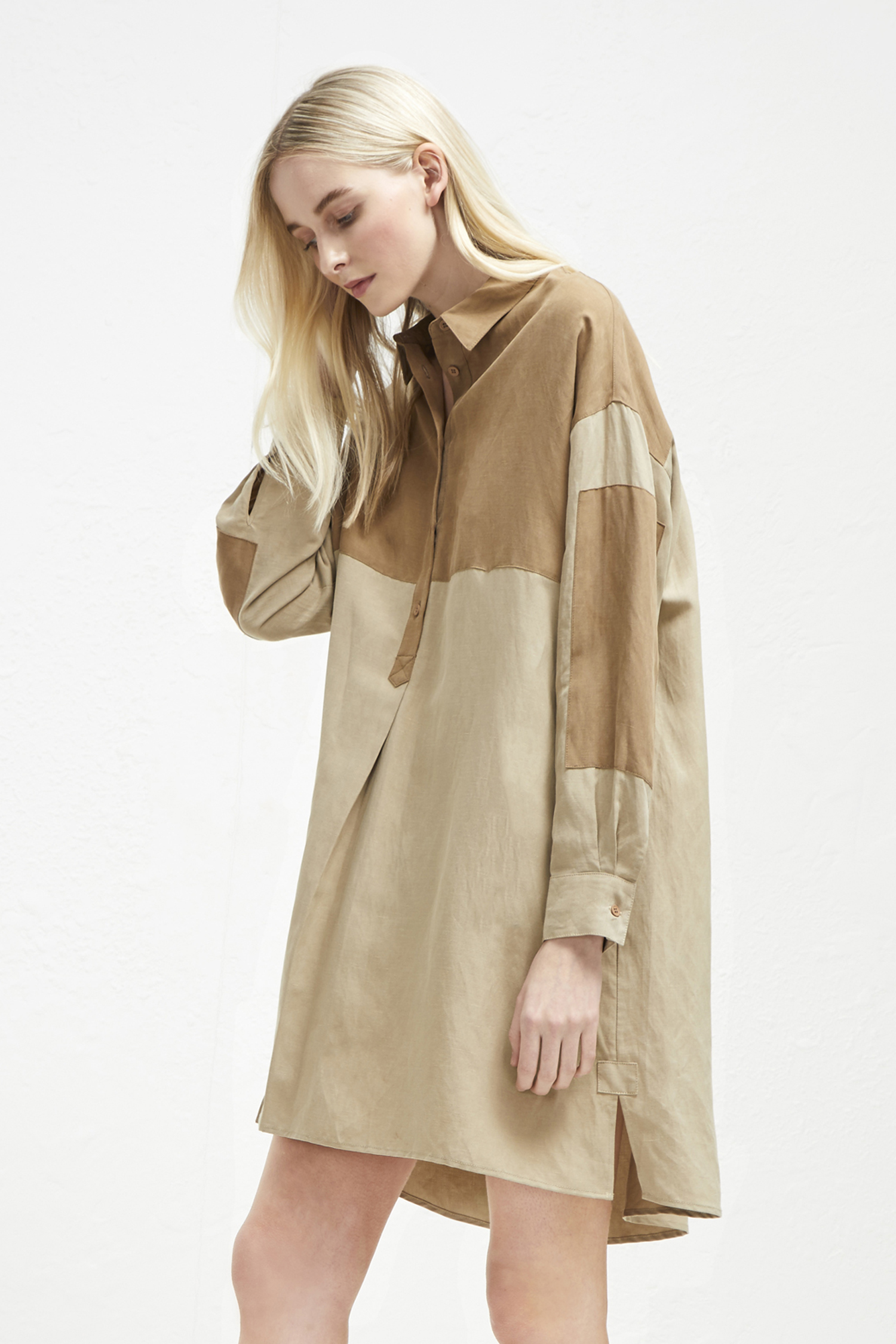 f0fd1f3fa1d Caspia Linen Shirt Dress | Collections | French Connection