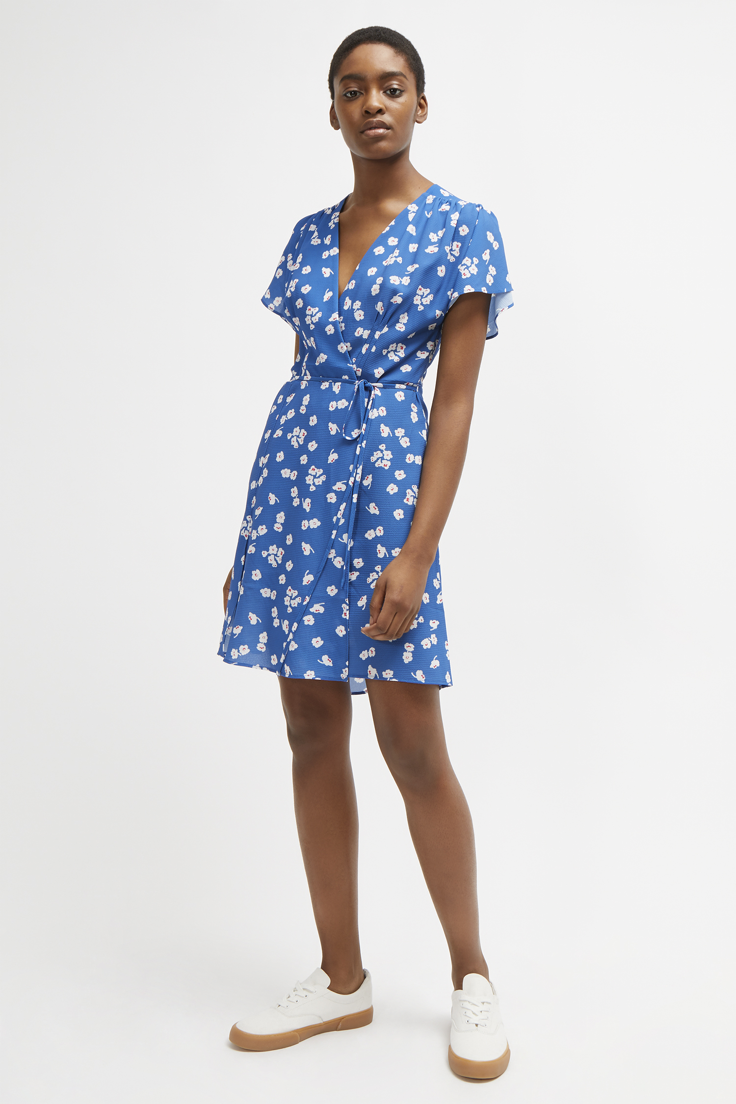Verona Floral Wrap Dress Collections French Connection