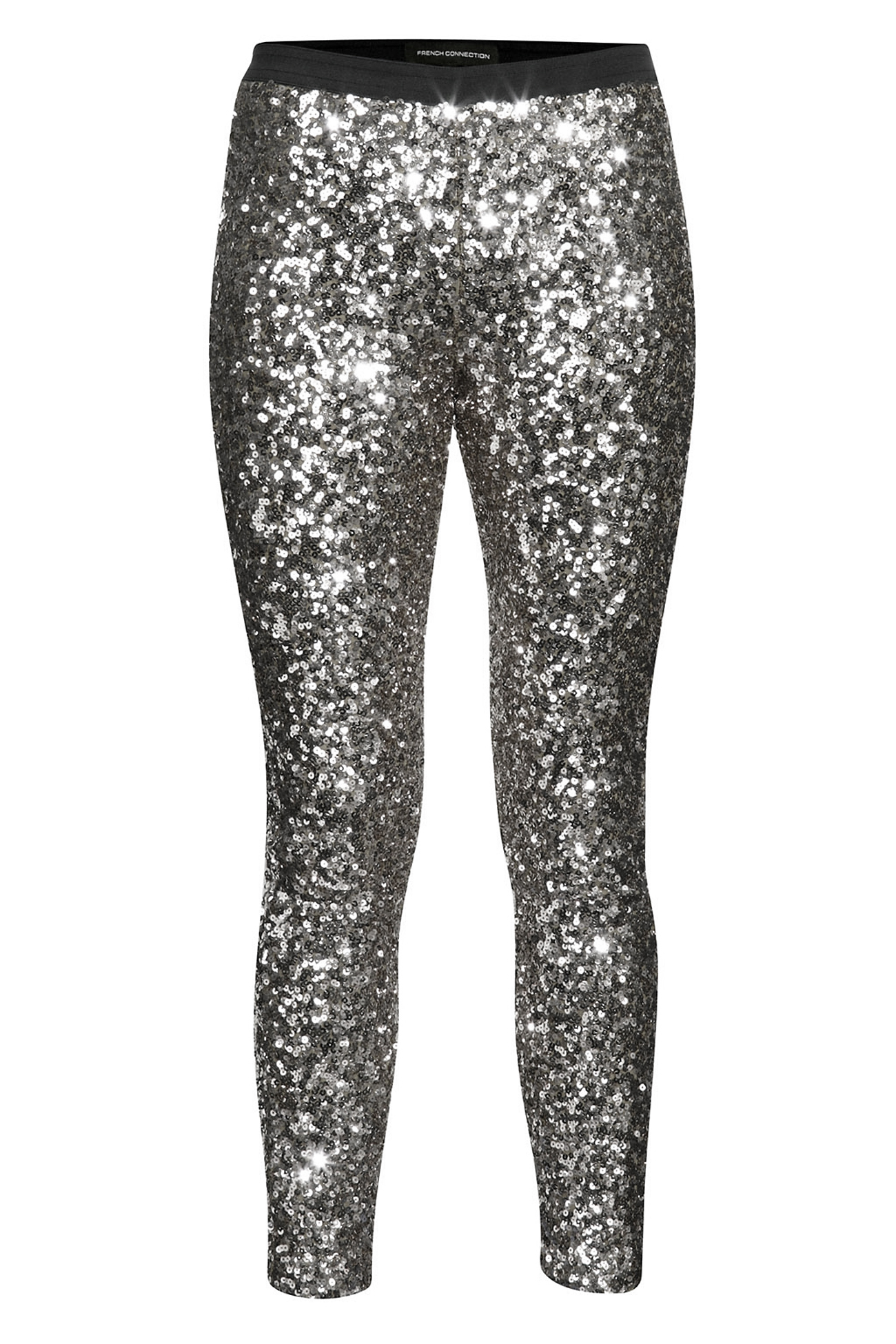 Silver Sparkly Leggings