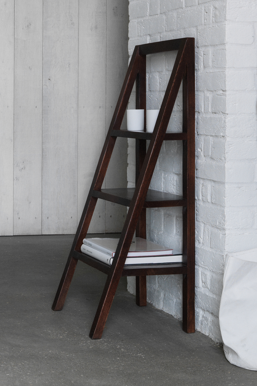 Sheesham ladder shelving occasional furniture french for Furniture x connection